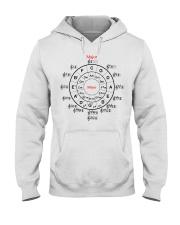 CIRCLE OF FIFTHS Hooded Sweatshirt thumbnail