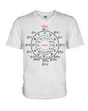 CIRCLE OF FIFTHS V-Neck T-Shirt thumbnail