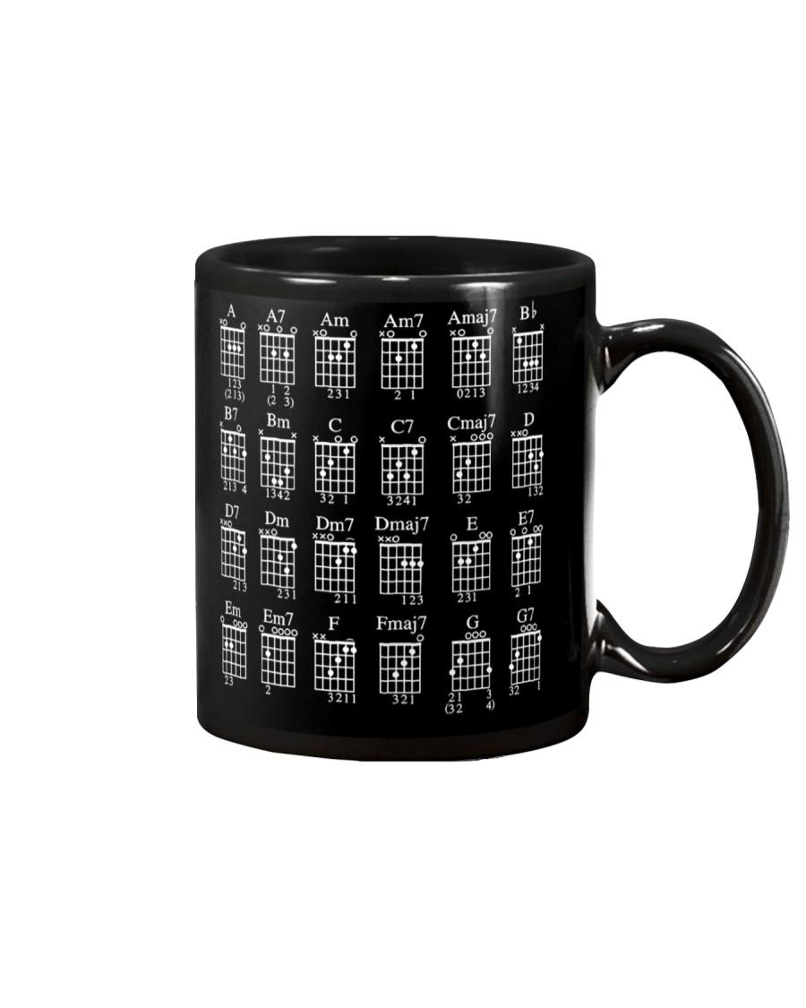 GUITAR CHORDS - MUG AND SHIRTS Mug