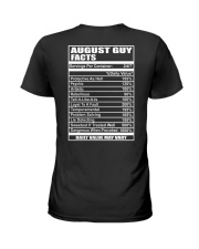 AUGUST GUY FACTS Ladies T-Shirt thumbnail