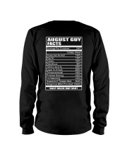 AUGUST GUY FACTS Long Sleeve Tee thumbnail