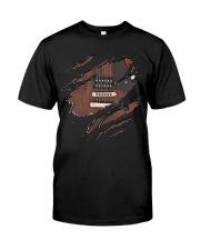 GUITAR BASS NEW SHIRT DESIGN Classic T-Shirt front