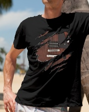 GUITAR BASS NEW SHIRT DESIGN Classic T-Shirt lifestyle-mens-crewneck-front-11