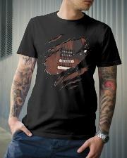 GUITAR BASS NEW SHIRT DESIGN Classic T-Shirt lifestyle-mens-crewneck-front-6