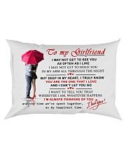 VALENTINE GIFT FOR GIRLFRIEND - PILLOW CASE Rectangular Pillowcase front