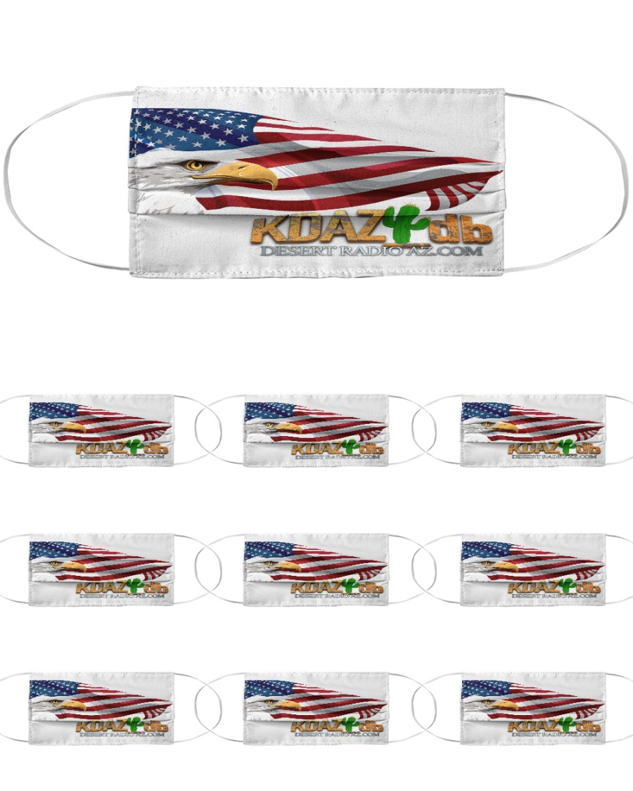 KDAZ-DB Patriot Multi-Pack Cloth Face Mask - 10 Pack