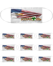 KDAZ-DB Patriot Multi-Pack Cloth Face Mask - 10 Pack front