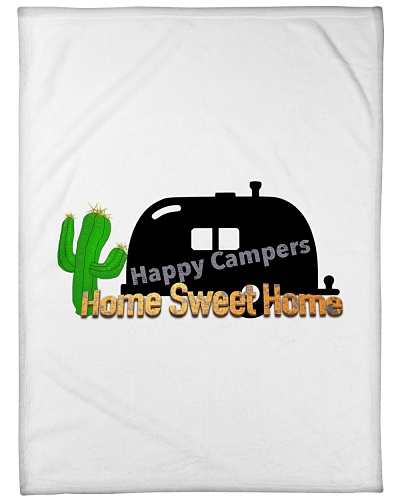 Happy Camper Blanket 60