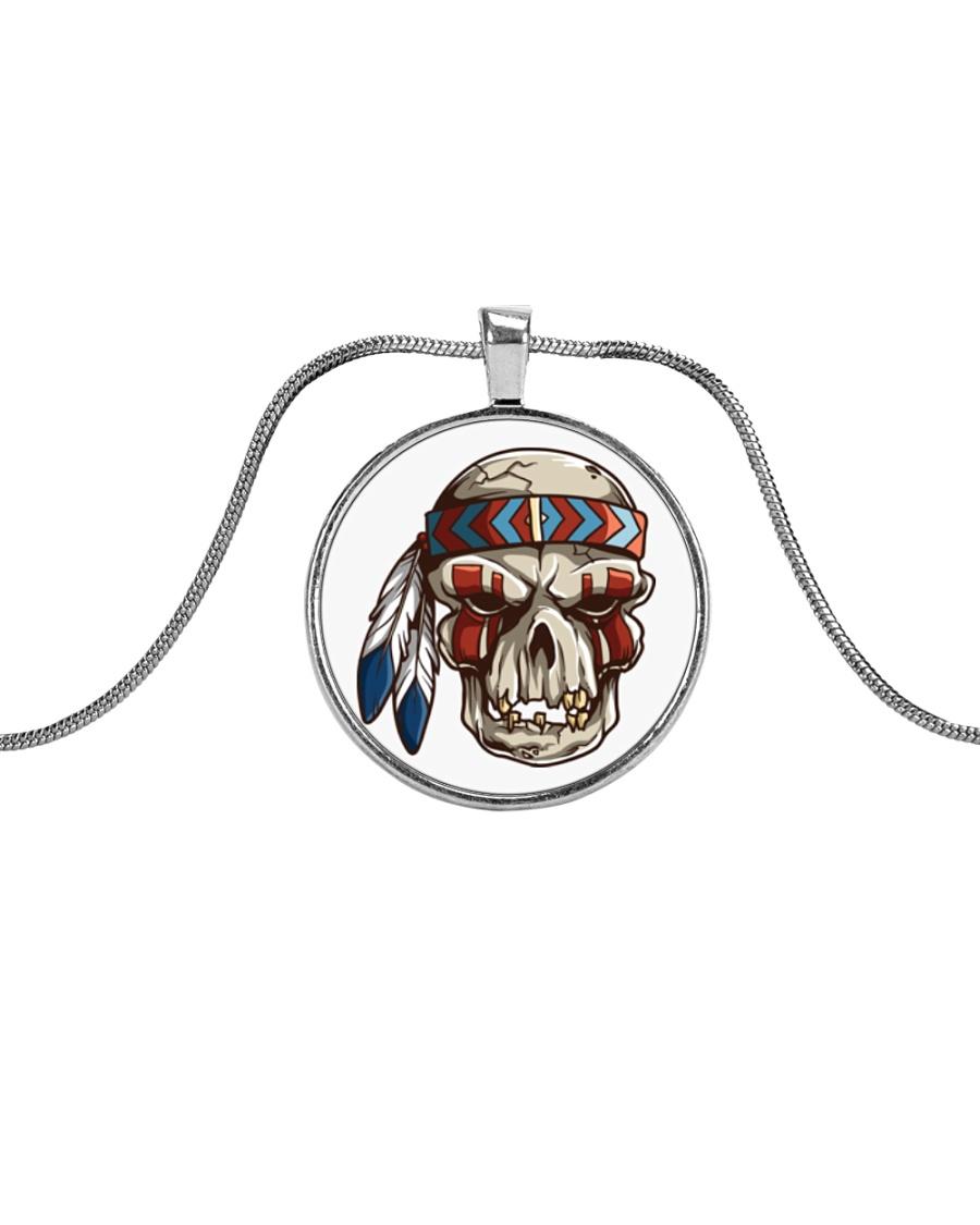 Desert Radio AZ Native Metallic Circle Necklace Metallic Circle Necklace