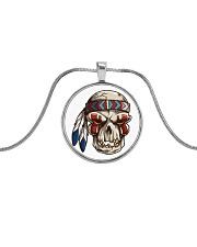 Desert Radio AZ Native Metallic Circle Necklace Metallic Circle Necklace front