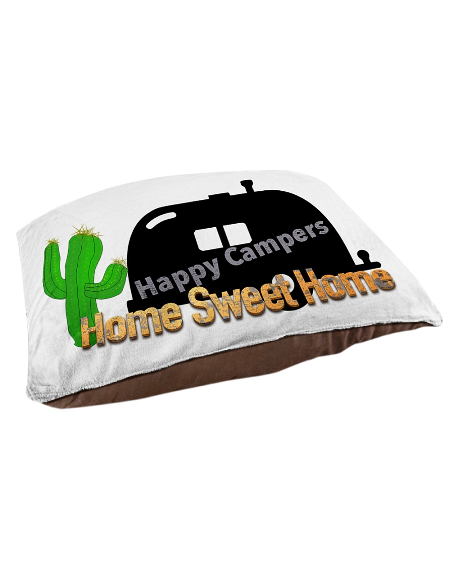 Happy Camper Pet Bed - Small Pet Bed - Small