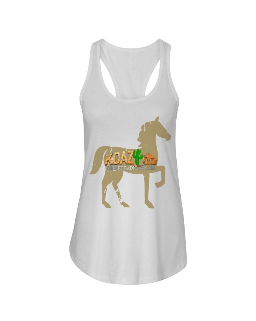 Desert Radio AZ - Horse Ladies Flowy Tank