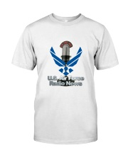 Air Force Radio News Shirt Classic T-Shirt front
