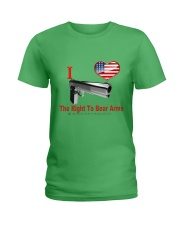 Right To Bear Arms Ladies T-Shirt front