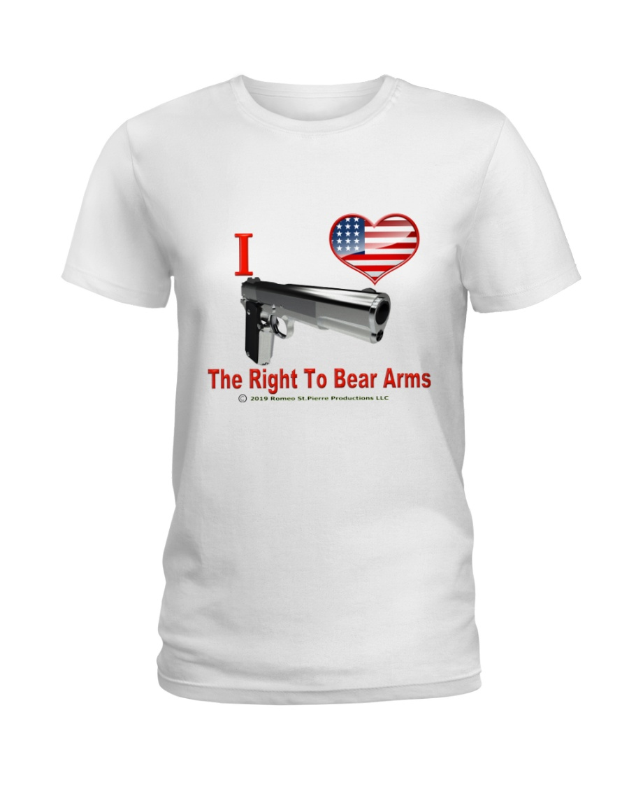 Right To Bear Arms Ladies T-Shirt