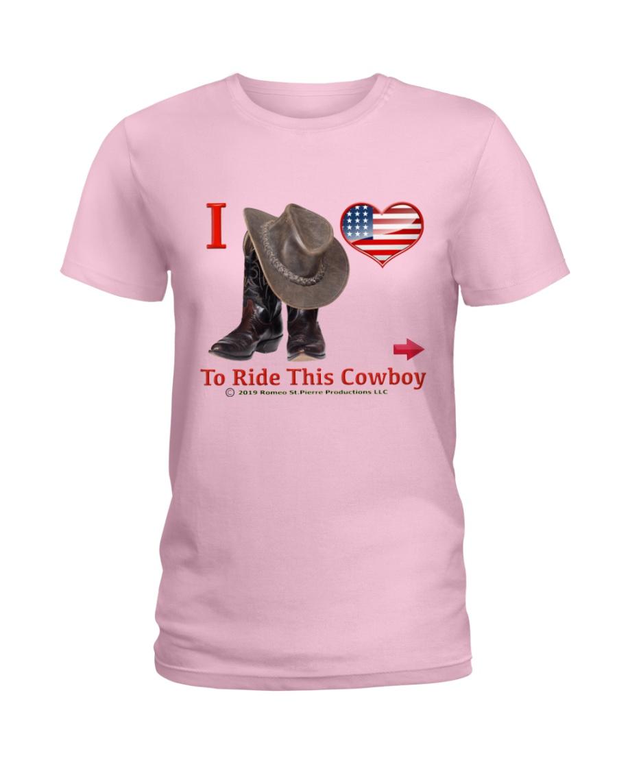 RideThisCowboy Ladies T-Shirt