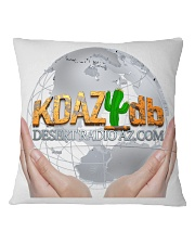 Desert Radio AZ Touching The World Square Pillowcase back
