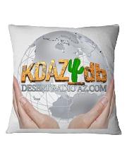 Desert Radio AZ Touching The World Square Pillowcase front