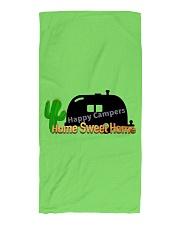 Happy Camper Beach Towel Beach Towel front