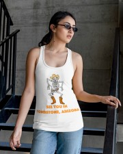 Tombstone Gunslinger Ladies Flowy Tank apparel-ladies-flowy-tank-lifestyle-03