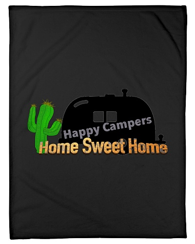 Happy Camper Blanket 30 x 40