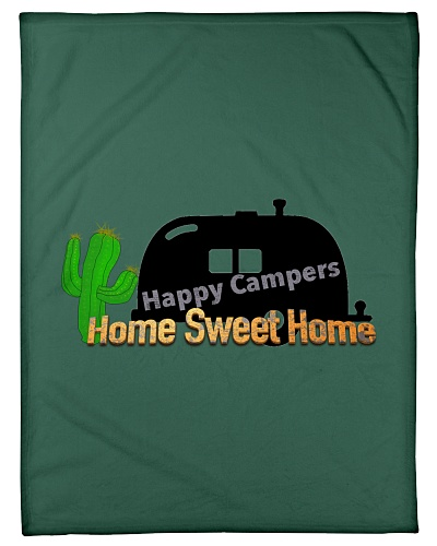 Happy Camper Blanket 30 x 40