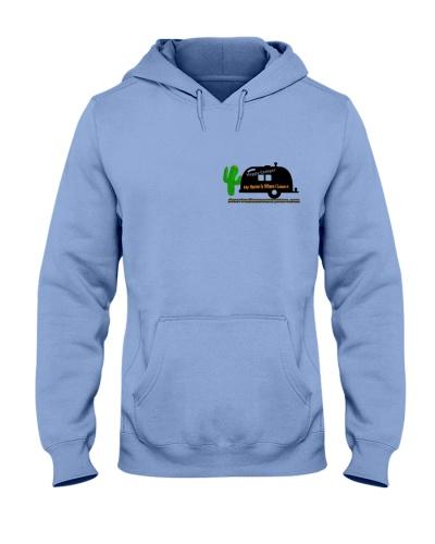Happy Camper Hooded Sweatshirt