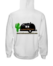 Happy Camper Hooded Sweatshirt Hooded Sweatshirt back