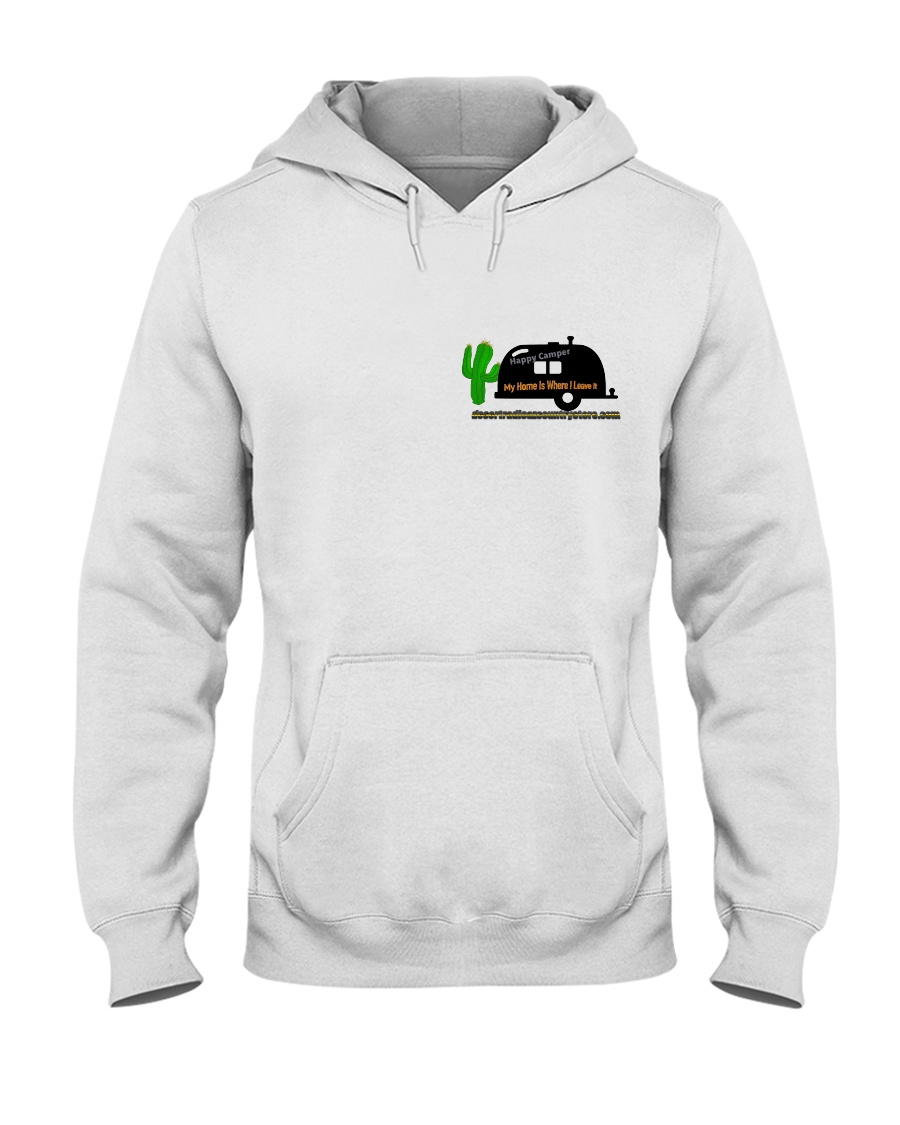 Happy Camper Hooded Sweatshirt Hooded Sweatshirt