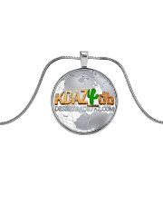 Around The Globe Desert Radio AZ Metallic Circle Necklace front