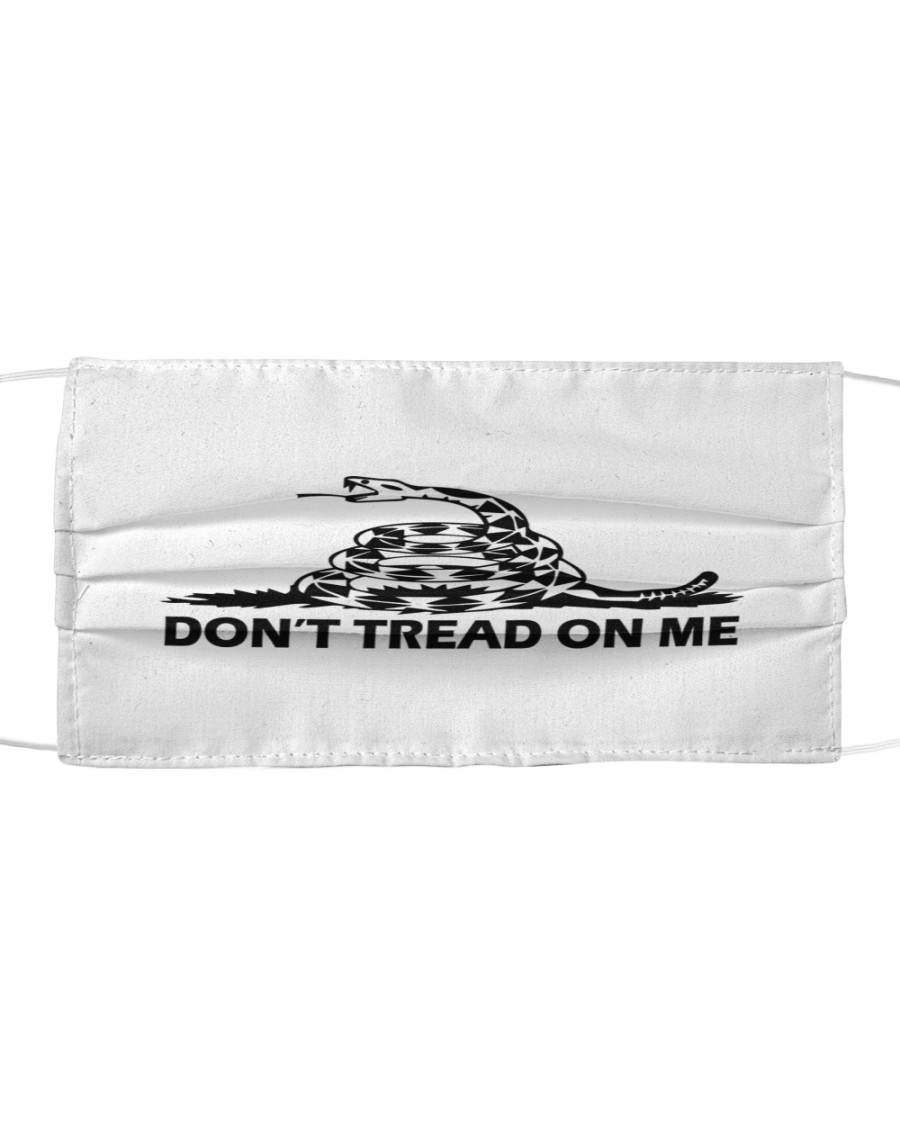 Don't Tread On Me Mask Cloth face mask