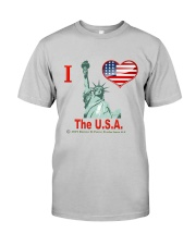 The U S A Classic T-Shirt front