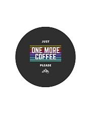 One More Coffee Circle Cutting Board thumbnail