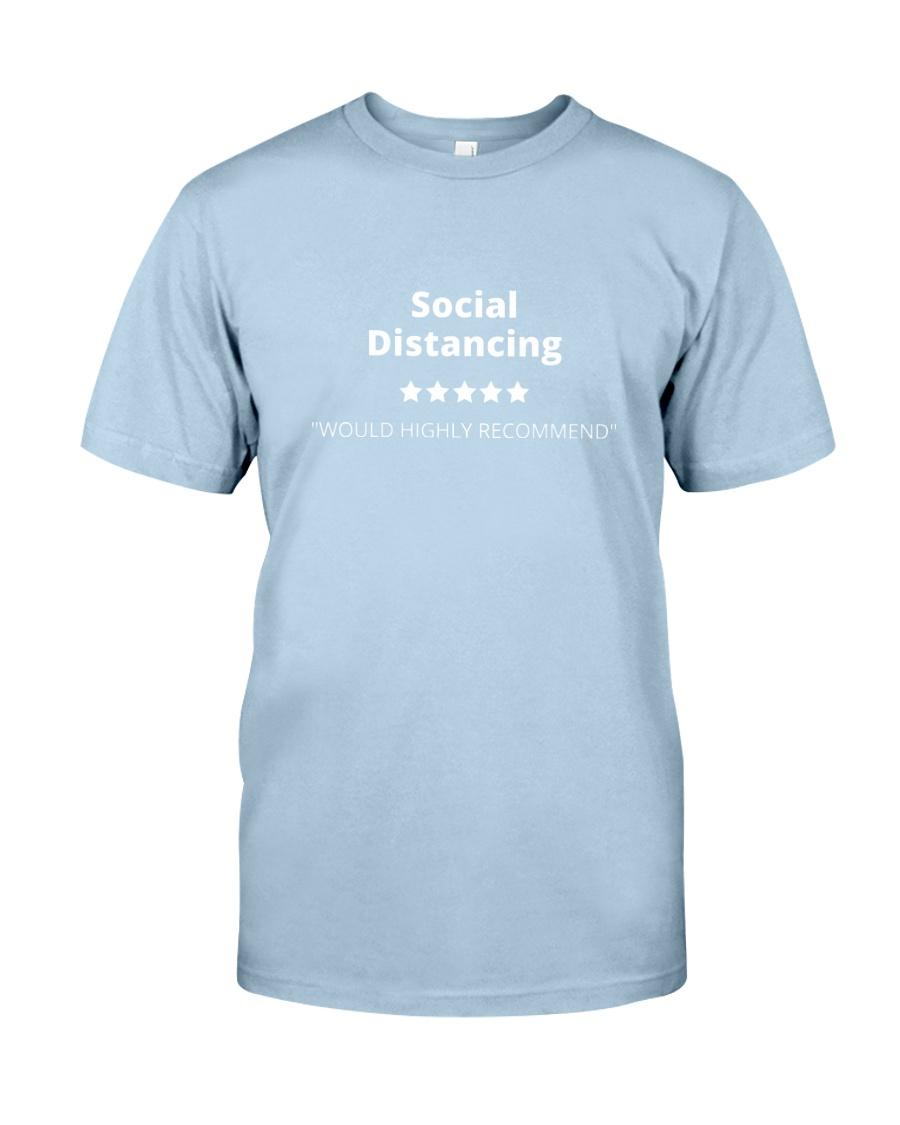 Social Distancing - 5 stars Classic T-Shirt