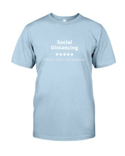 Social Distancing - 5 stars Classic T-Shirt front