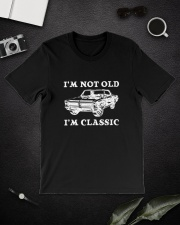 I'm not old I'm classic - 65 GTO Premium Fit Mens Tee lifestyle-mens-crewneck-front-16