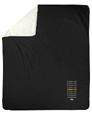 "Coffee Life  Sherpa Fleece Blanket - 50"" x 60"" thumbnail"