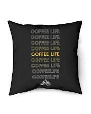"Coffee Life  Indoor Pillow - 16"" x 16"" thumbnail"