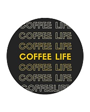 Coffee Life  Circle Coaster thumbnail