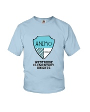 WR - Animo - Blue - Youth Youth T-Shirt front