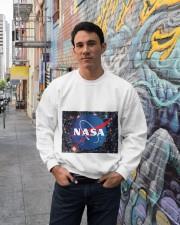 NASA TSHIRT Crewneck Sweatshirt lifestyle-unisex-sweatshirt-front-2