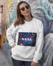 NASA TSHIRT Crewneck Sweatshirt lifestyle-unisex-sweatshirt-front-3