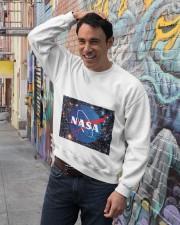 NASA TSHIRT Crewneck Sweatshirt lifestyle-unisex-sweatshirt-front-4