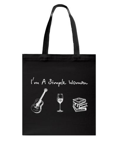 Guitar - Wine - Book