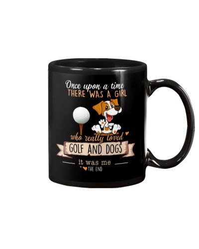 Golf and Dogs Once upon a time there was a girl