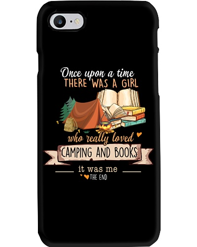 Books and Camping Once upon a time there  was a