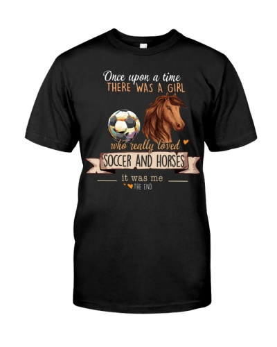 Soccer and Horses Once upon a time there was a