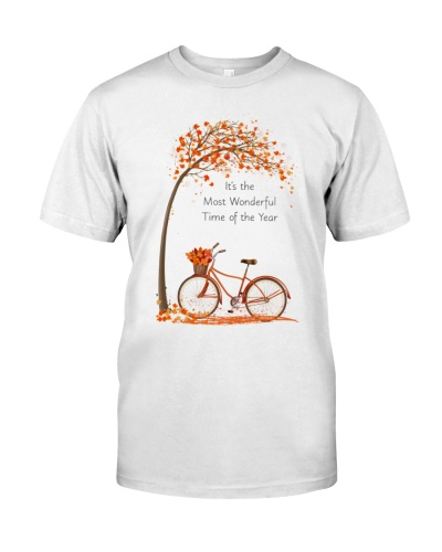 Autumn bicycle It's the most wonderful time of the
