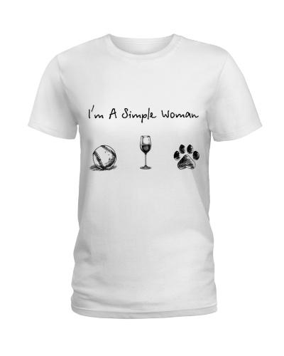 Baseball - Wine - Dog paw