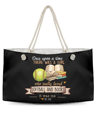 Softball and Books Once upon a time there  was a